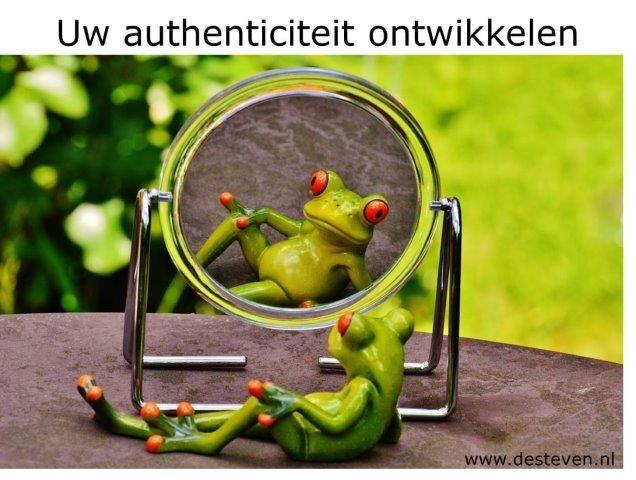 Authenticiteit ontwikkelen en authentiek worden