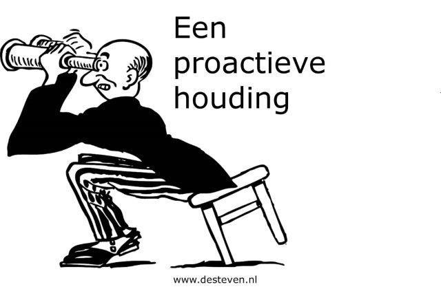 Proactieve houding ontwikkelen