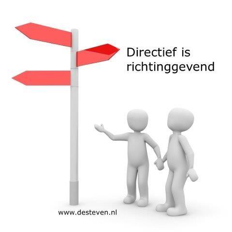 Directief is richtinggevend