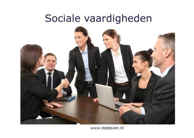 Sociale vaardigheden