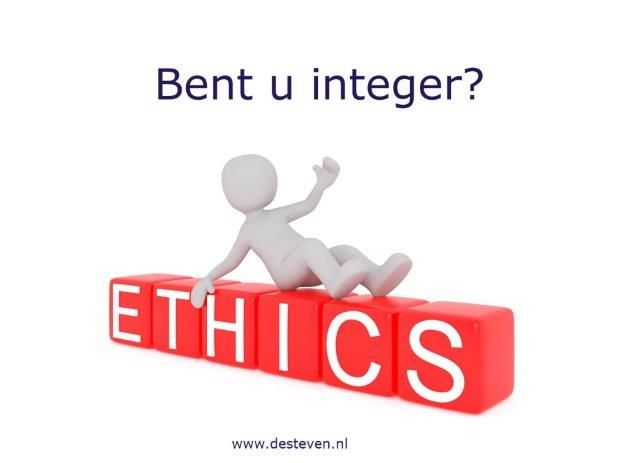 Integriteitskwesties en integriteitsconflicten binnen organisaties