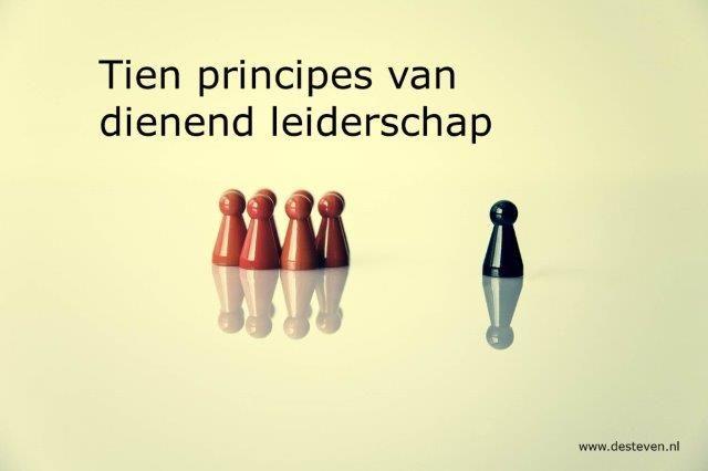 principes dienend leiderschap