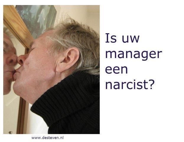 Leidinggevende manager narcist