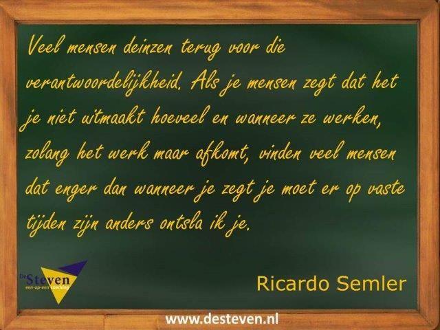 Leiderschapsprincipes Ricardo Semler