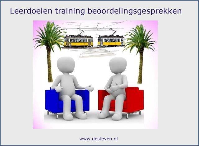 Leerdoelen training beoordelingsgesprekken