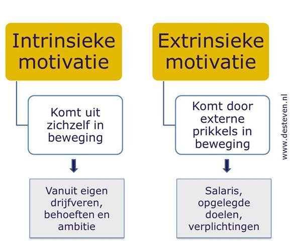 Intrinsieke motivatie medewerkers