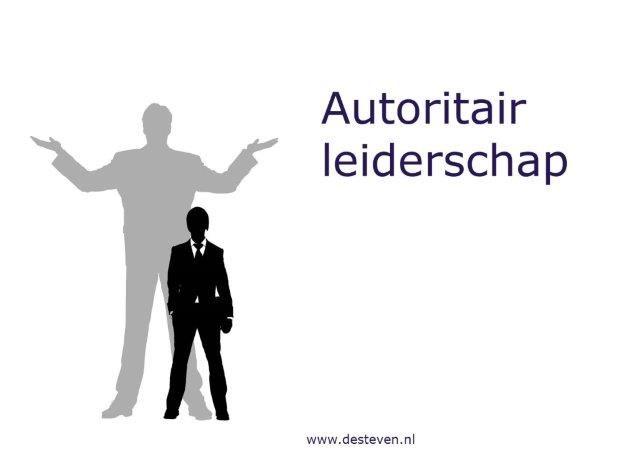 Autoritair leiderschap