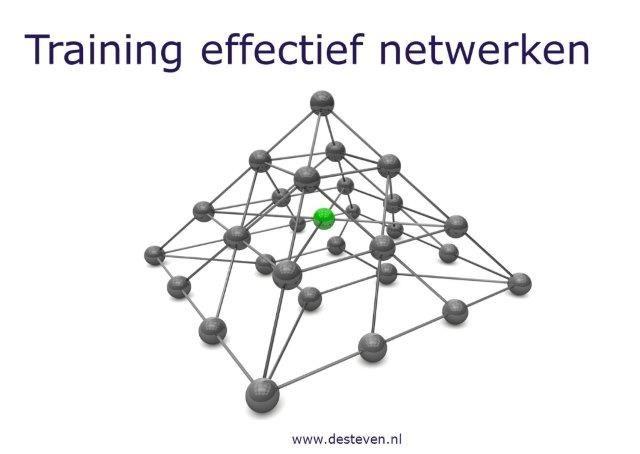 Training effectief netwerken