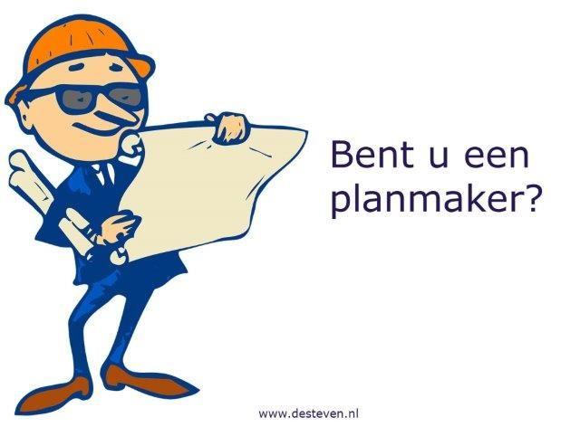 Planmaker: plannen maken en uitvoeren