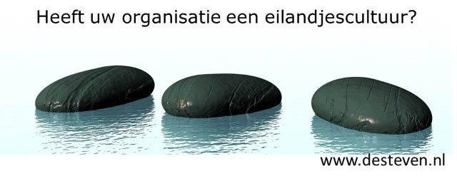 eilandjescultuur binnen de organisatie
