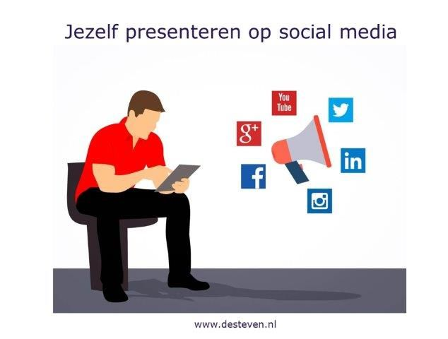 Jezelf presenteren op social media