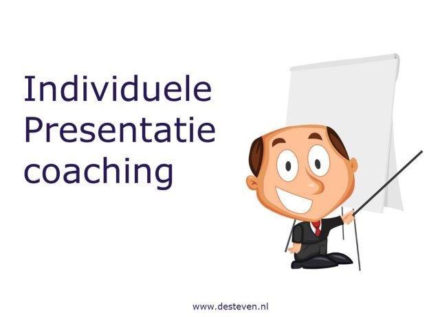 Individuele presentatie training