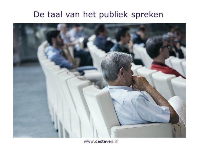 Presenteren en de taal van het publiek spreken