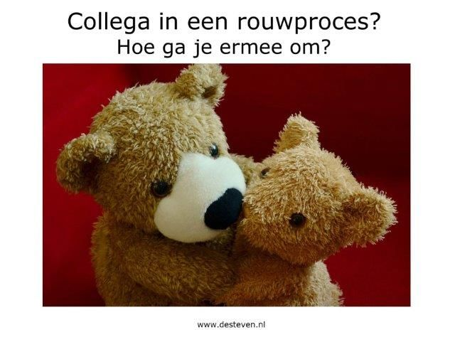 Collega rouwproces: hoe ga je ermee om?