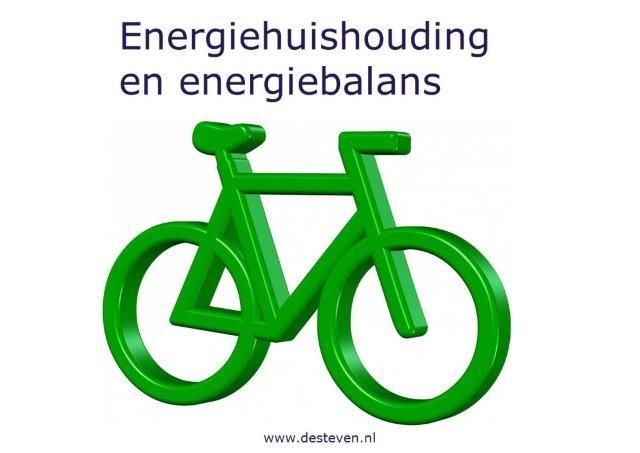Energiehuishouding en persoonlijke energiebalans