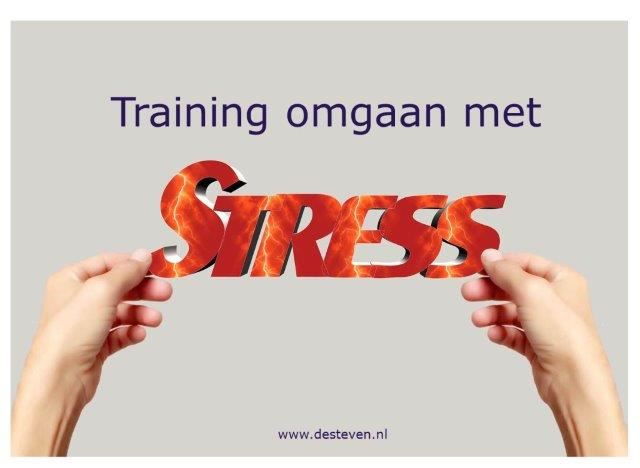 Training stressmanagement: omgaan met stress