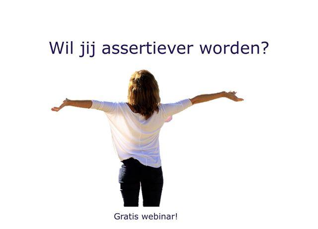 Assertief webinar