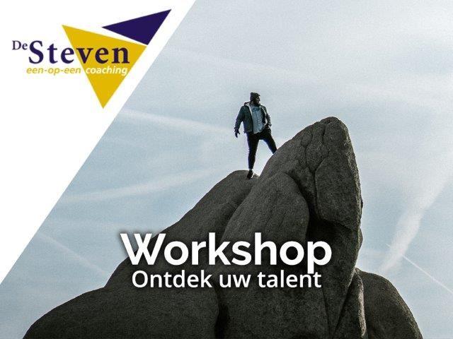 Workshop ontdek uw talent