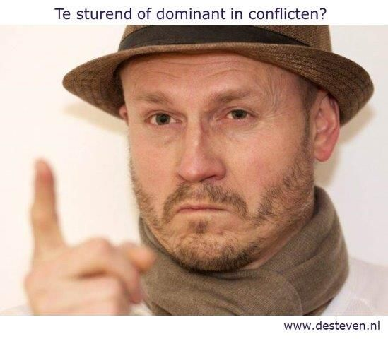 conflictsituaties sturend of dominant