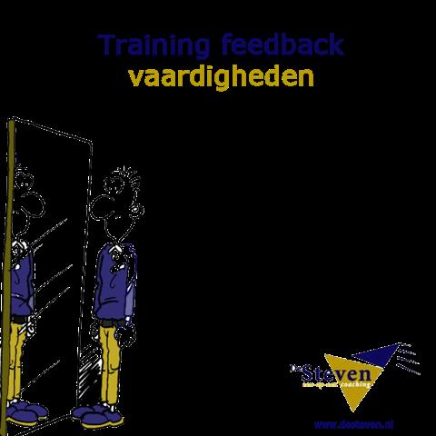 training feedback geven en ontvangen