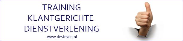 training of cursus klantgerichte dienstverlening