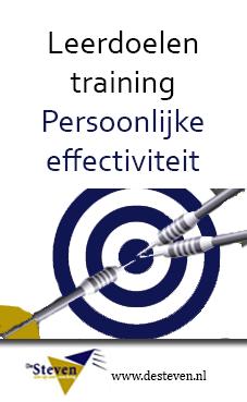 persoonlijke effectiviteit leerdoelen