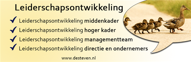 training leidinggeven of management in Drenthe