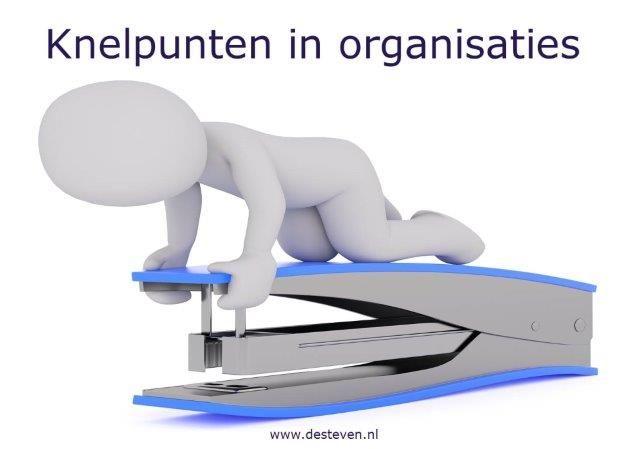 Knelpunten in uw organisatie