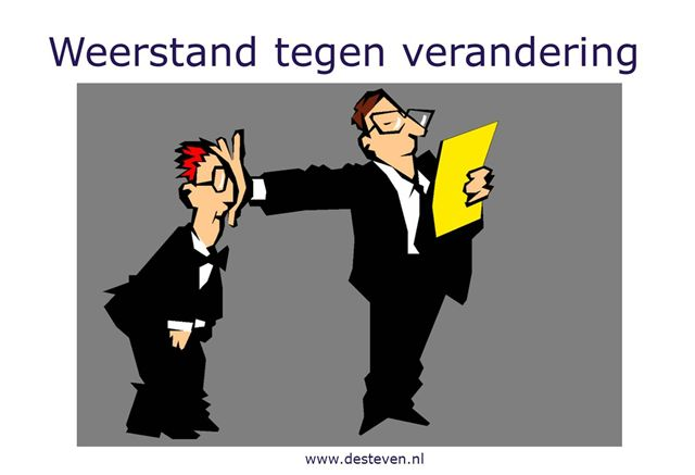 Weerstanden in teams en organisaties