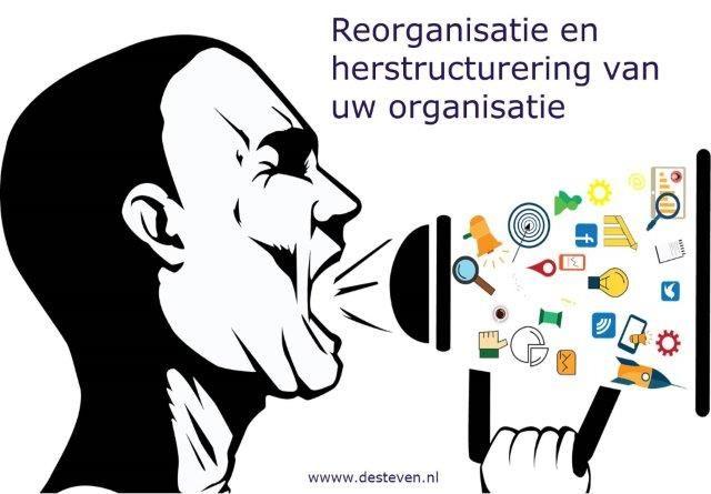 Reorganisatie en herstructuring van uw organisatie