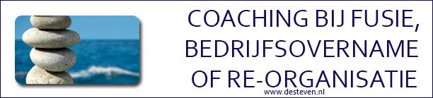 coaching bedrijfsovername fusie reorganisatie