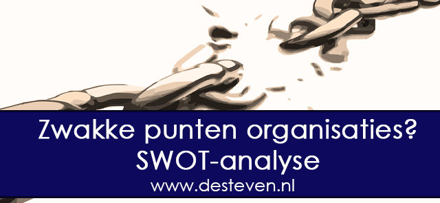 swot analyse zwakke punten of weak points organisatie