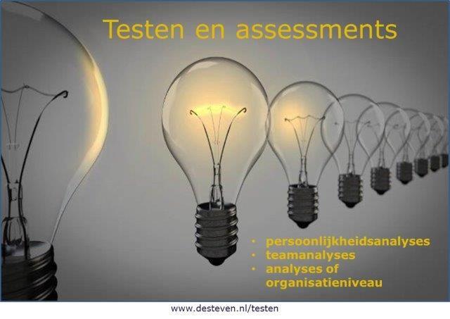 Testen: persoonlijkheidsanalyses, teamanalyses, analyses of organisatieniveau