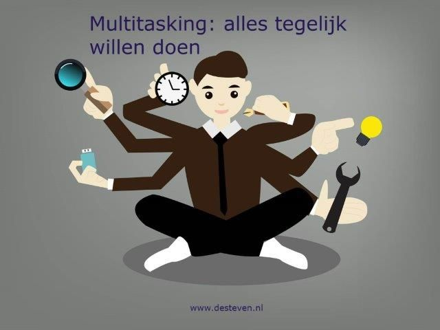 Multitasking: alles tegelijk doen