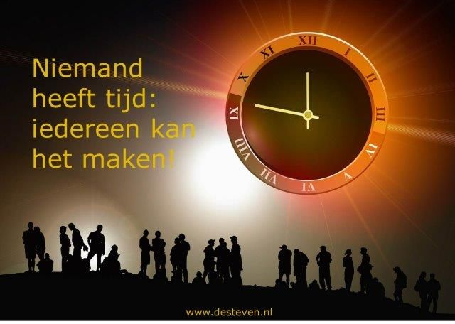 Timemanagement leerdoelen voor de training of cursus