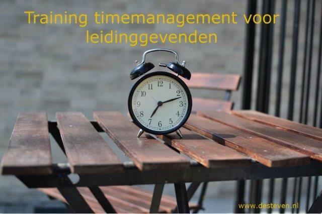 Training time management voor leidinggevenden